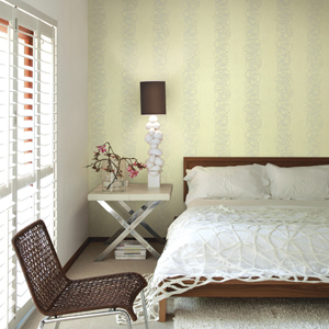 Squiggles - Ice Green wallpaper Design. Looks great as a feature wall behind a bed